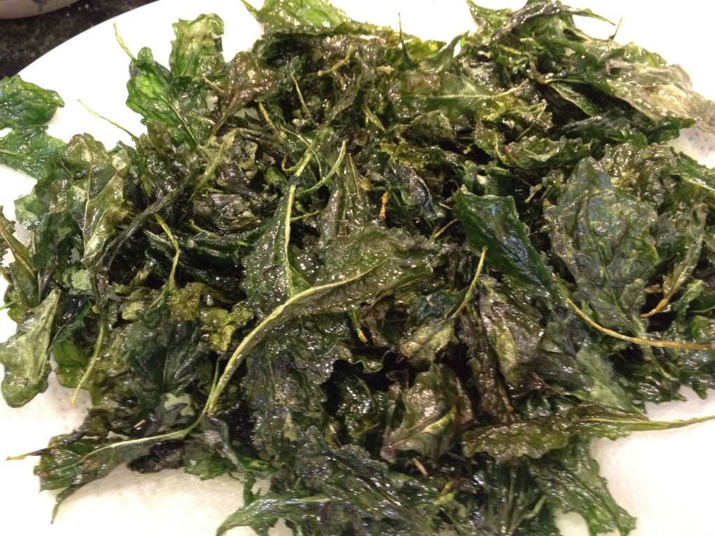 Fried Kale