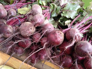 Fresh Red beets